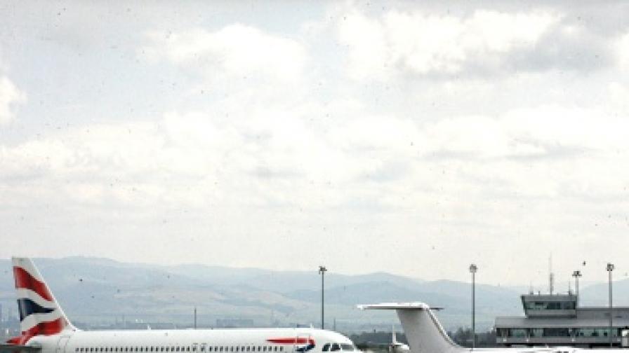 Летище София отбеляза рекорд през юли