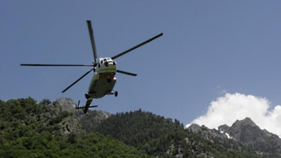Спасиха турист, получил инсулт под връх Вихрен