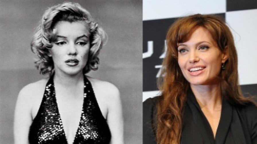 Анджелина Джоли ще е Мерилин Монро, а Клуни – Франк Синатра