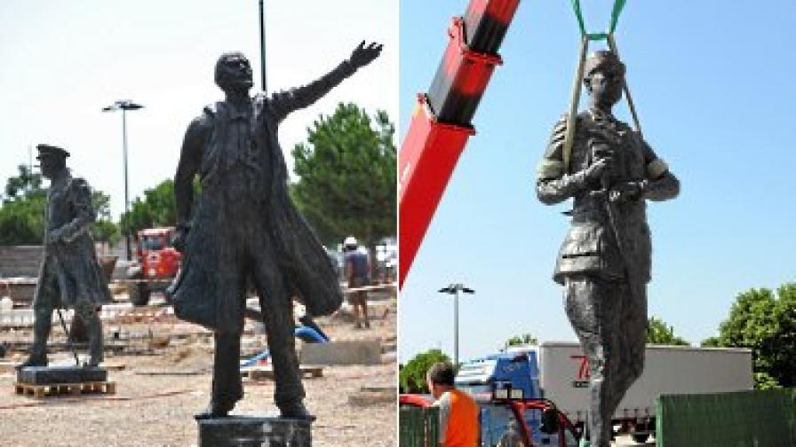 Триметров Ленин се появи в Монпелие