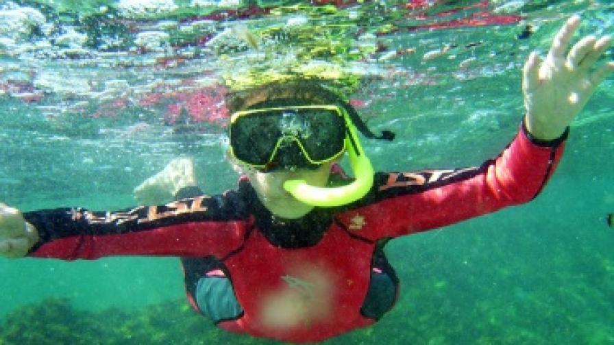 Българин подобри световния рекорд за най-дълго спускане в солена вода