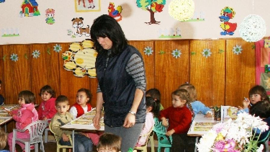 Две трети от българите са за детска градина от рано
