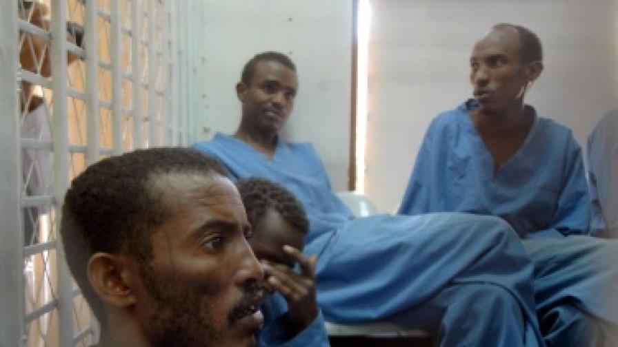 Заловени сомалийски пирати очакват съдебния процес срещу тях в Йемен