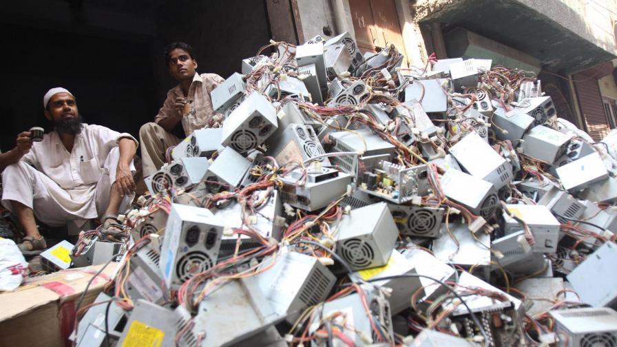 Е-боклукът - заплаха и за националната сигурност