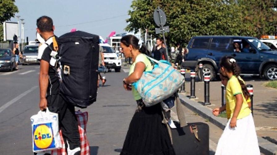 ЕК към Франция: Ще ви съдим заради ромите