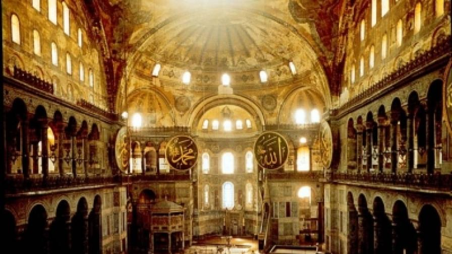 """Няма да има литургия в """"Св София"""" в Истанбул"""