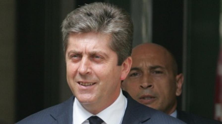 Държавният глава Георги Първанов