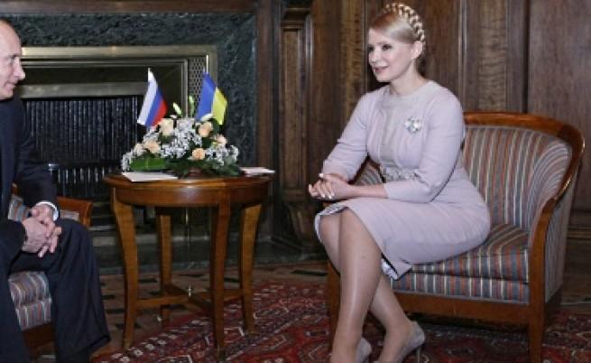 Анти-Тимошенко дрес код в Украйна