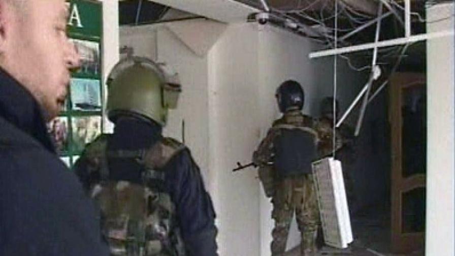 Бунтовници нападнаха чеченския парламент