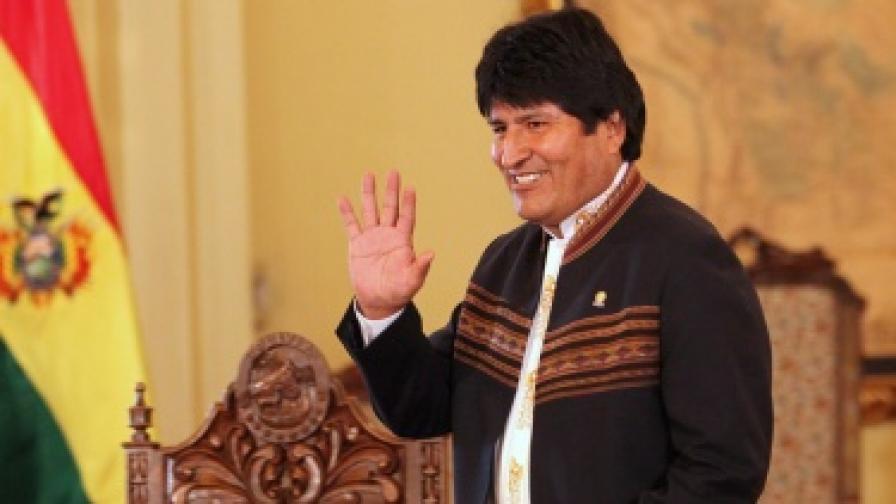 Боливийският президент Ево Моралес
