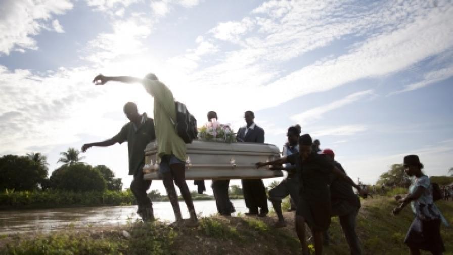 220 жертви на холерата в Хаити