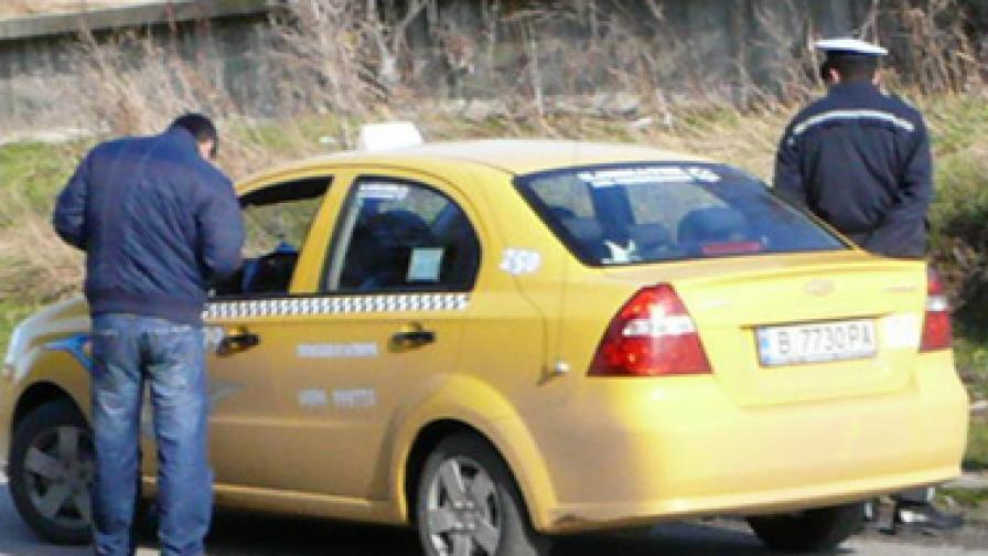 Започна хайка за таксита