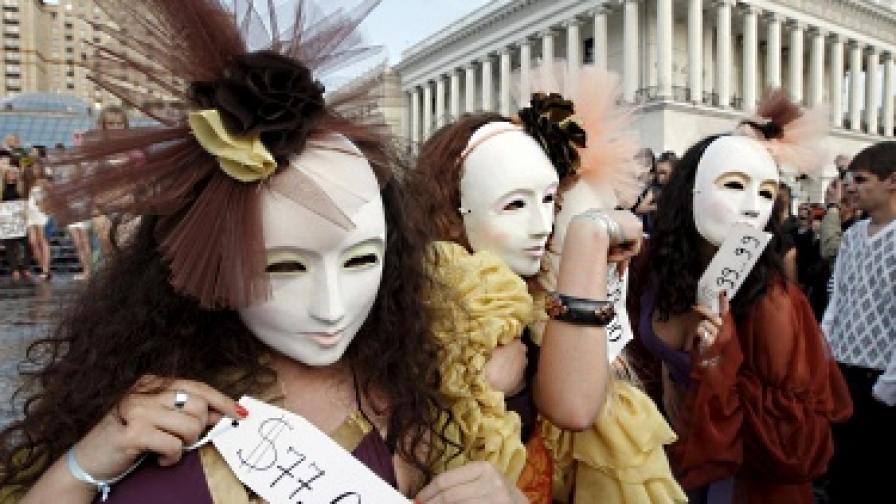 Петима българи арестувани в Полша за трафик на жени