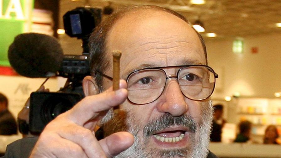 Последната книга на Умберто Еко излиза след погребението му