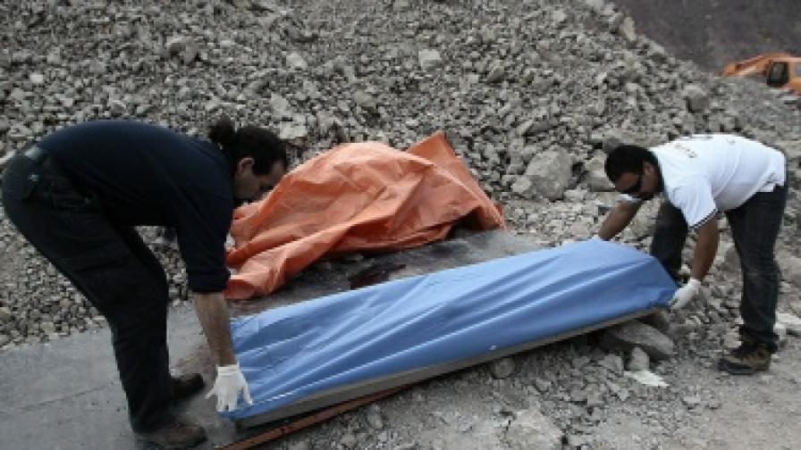 Нов инцидент с чилийски миньори