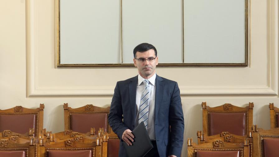 Финансовият министър Симеон Дянков