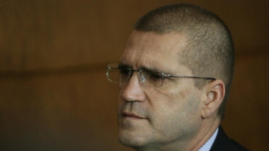 Подсъдимият бивш военен министър Николай Цонев