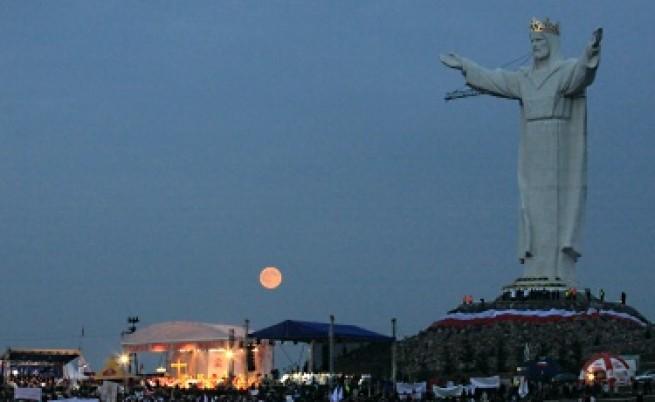 Най-високият Христос е в Полша