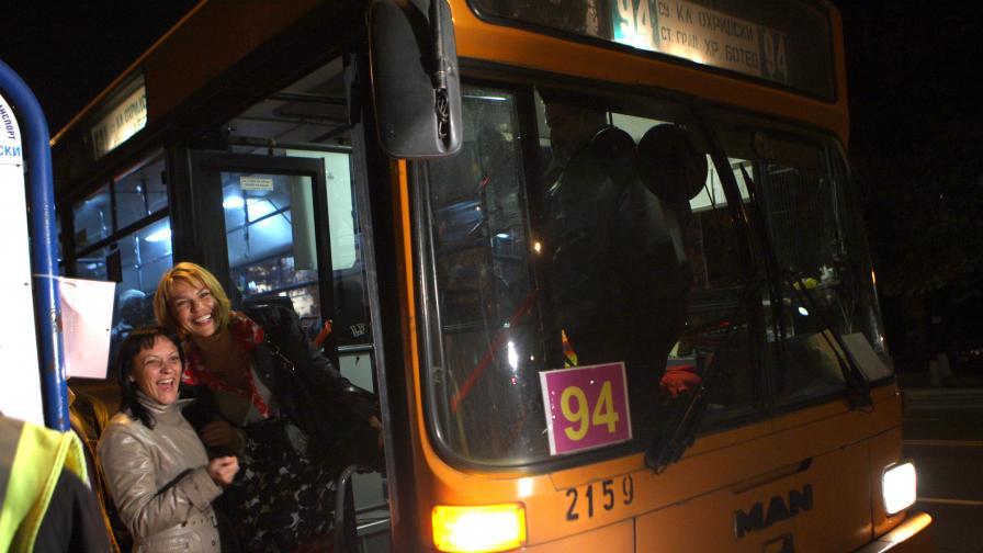 Автобусите в София с 19,4 км/ч, метрото - двойно по-бързо