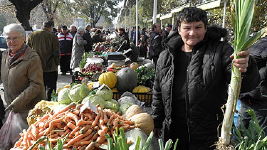 Храните са поскъпнали с 1,3% през ноември