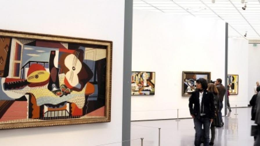 Изложба на художника в Кунстхаус, Цюрих
