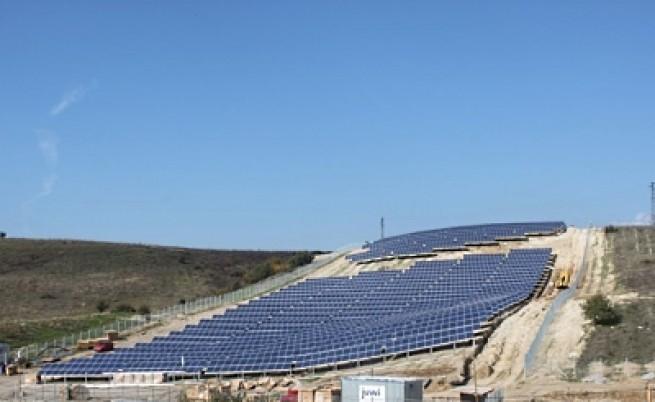 Истински соларен парк в България