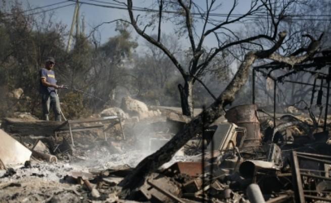 Израел: Пожарът е овладян