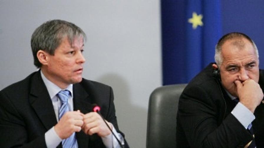 Дачиан Чиолош и Бойко Борисов