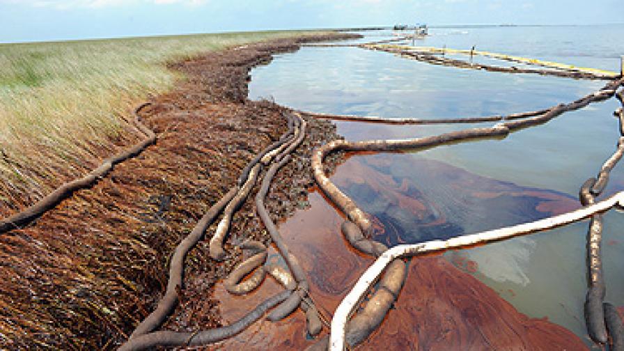 Разливът е най-голямата екологична катастрофа с петрол в историята на САЩ