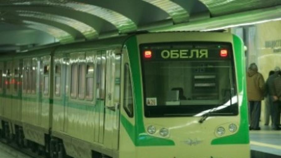 Авария в софийското метро