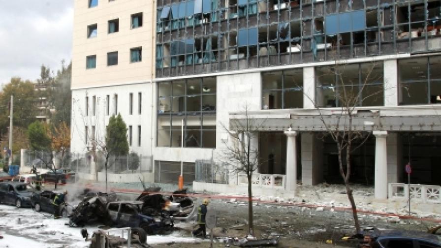 Нова експлозия в Атина