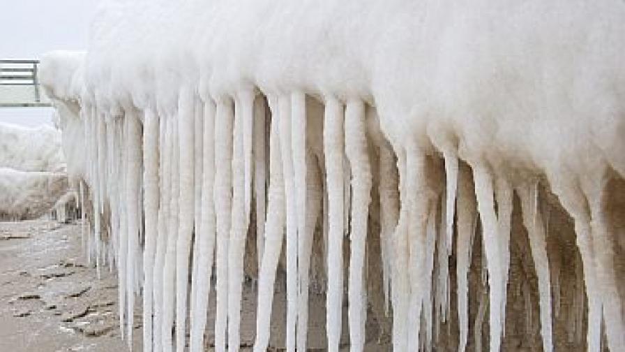 Студ от... минус 61,2 градуса в село