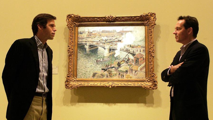 Наследници на Писаро на негова изложба