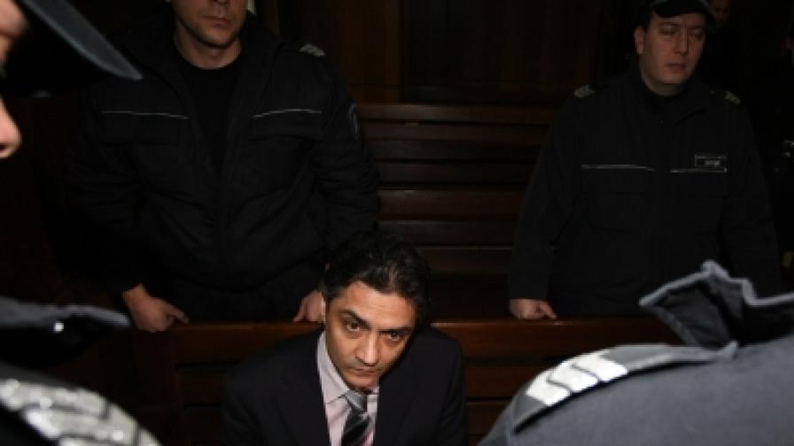 Обвиняемият Марчело Джотолов в съда