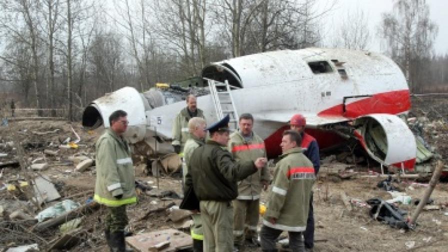 Натиск върху пилота - причина за катастрофата на самолета на Качински