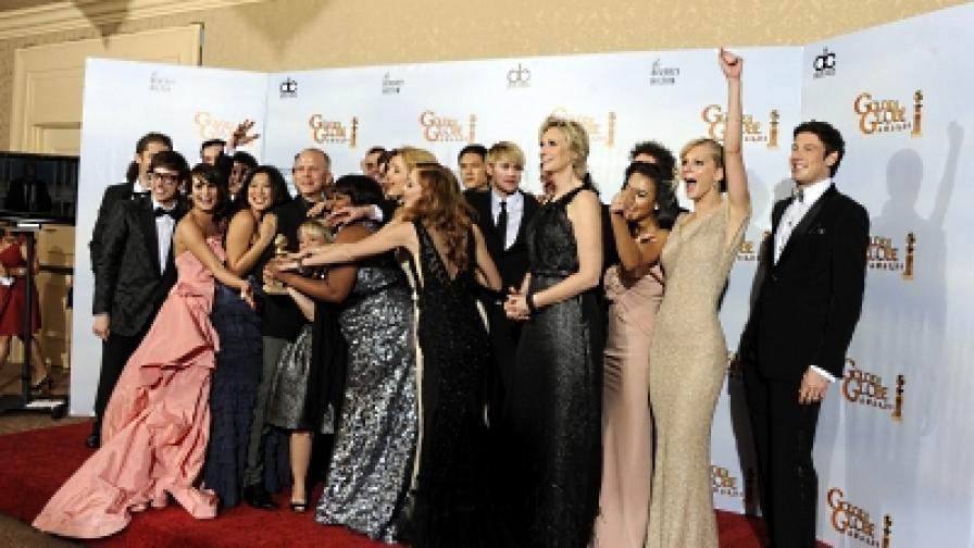 Щастливият екип на телевизионния мюзикъл Glee