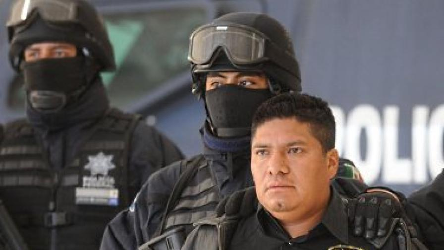 Флавио Мендес Сантяго при ареста му