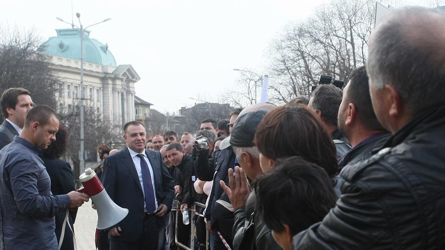 Смърт по време на протест в Гоцеделчевско