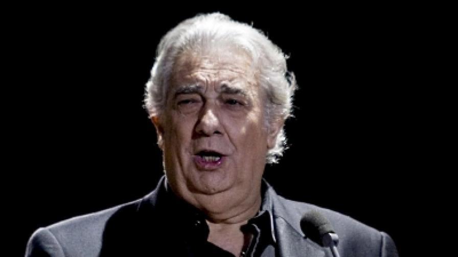 Пласидо Доминго на благотворителен концерт в Палма ди Майорка през август 2009 г.