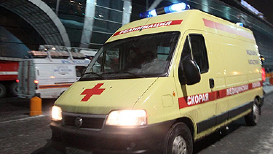 Покрив на хипермаркет се срути в Санкт Петербург, има жертви