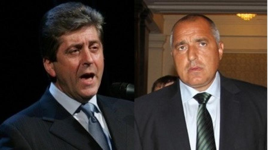 Първанов се закани да съди Борисов за клевета