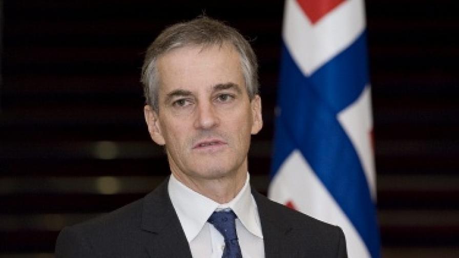 Норвежкият външен министър Йонас Гар Стьоре