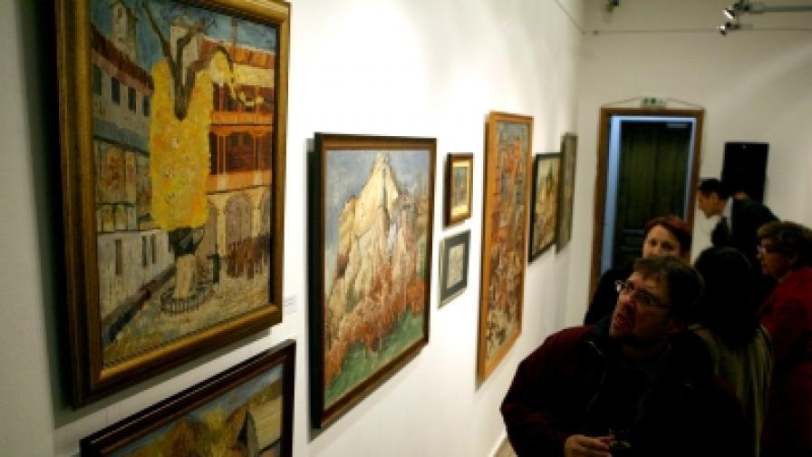 Откраднаха девет картини на Златю Бояджиев