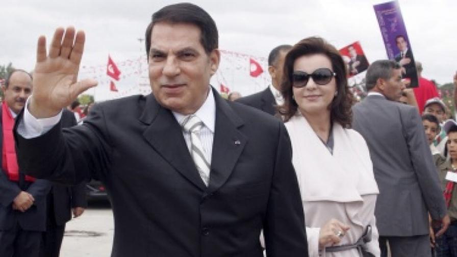 Семейна свада белязала бягството на Бен Али от Тунис