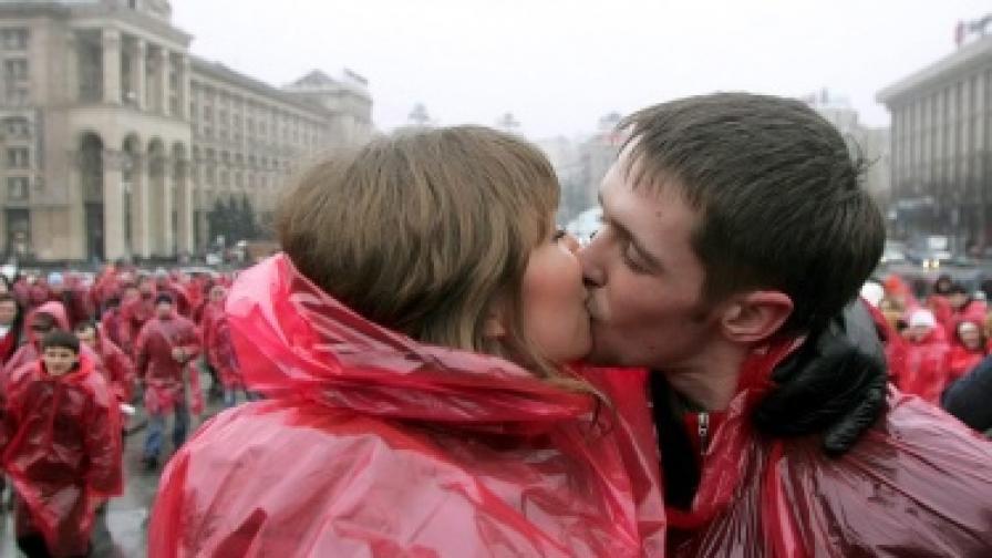 Днес празнуват влюбените