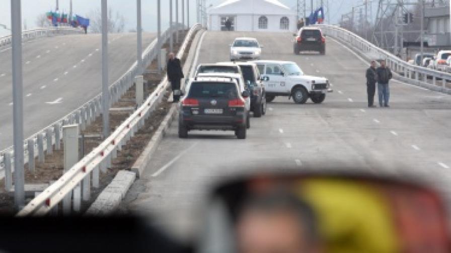 Роми нападнаха сръбски ТИР, но си тръгнаха без кола
