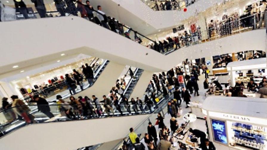 Лондон е столицата на пазаруването