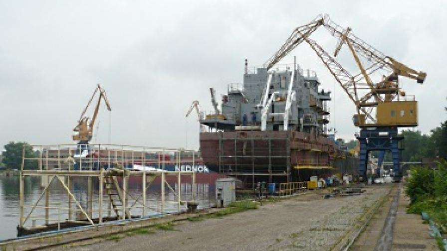 Корабостроителницата в Русе с нови собственици