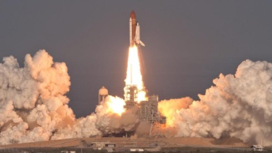 """""""Дискавъри"""" за последен път в космоса"""