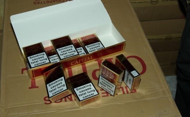 Голям удар по мрежа за внос на цигари